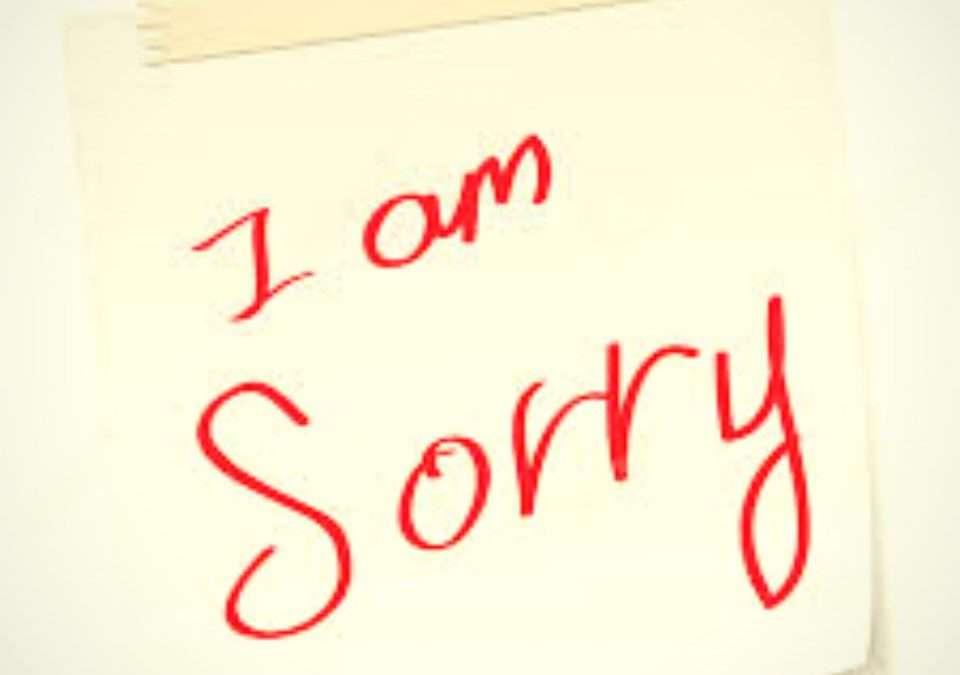 Κορονοϊός – Η δική μου συγγνώμη